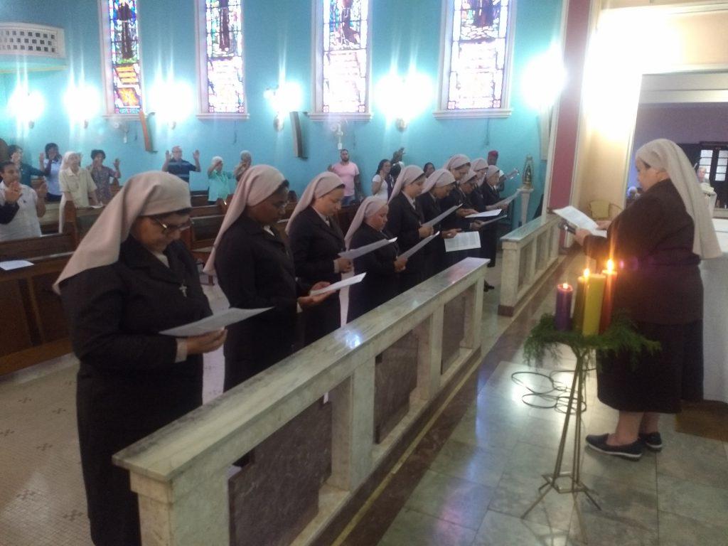 Renovação dos Votos das Irmãs Junioristas FCM
