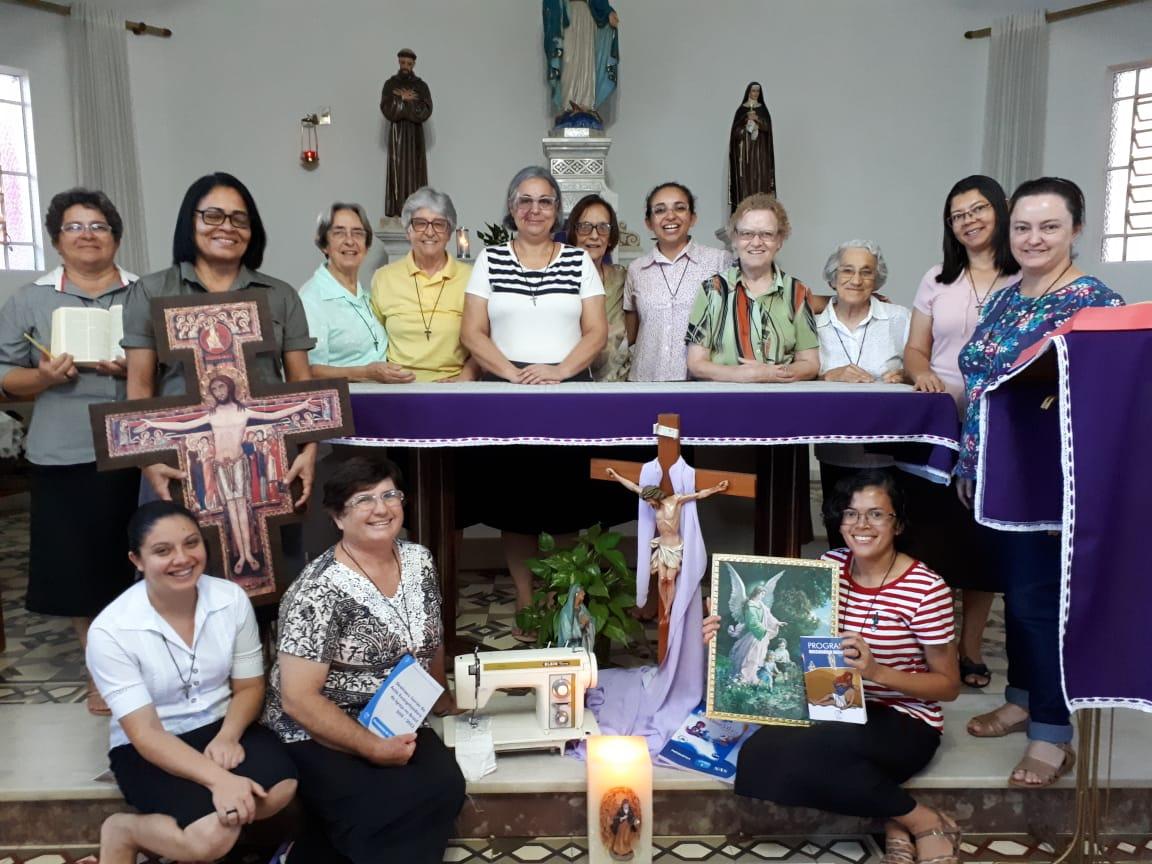 Capítulo Avaliativo com a presença das Fraternidades Coração de Maria e Anjo da Guarda (Penápolis/SP),...